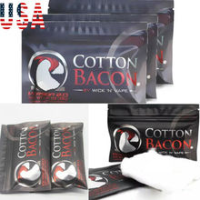 US Bacon COTTON BACON V2 2.0 By Wick 'N' Vape Organic Wicking Material Wholesale Fresh Cotton bacon freak