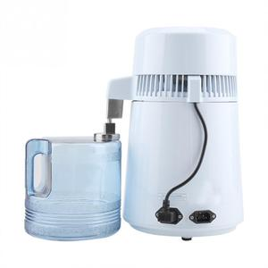 Image 3 - Housing Use Pure Water Distiller 4L Distilled Water Machine Distillation Purifier Stainless Steel Water Filter Russian Manual