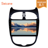 Seicane Android 8.1/8.0 9 inch Car Radio GPS Head Unit For 2000 2016 PEUGEOT 206 DVD Multimedia Player Wifi Stereo