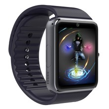 Смарт-часы GT08 с модернизированной серебристой цветной батареей 61D материнская плата с сенсорным экраном Bluetooth камера музыка мужские наручные часы