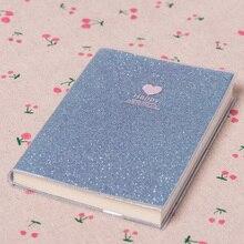 Блокнот для записей, модный подарок, блокнот, блестящая любовь, дневник, школа планирования, канцелярские принадлежности, Papery