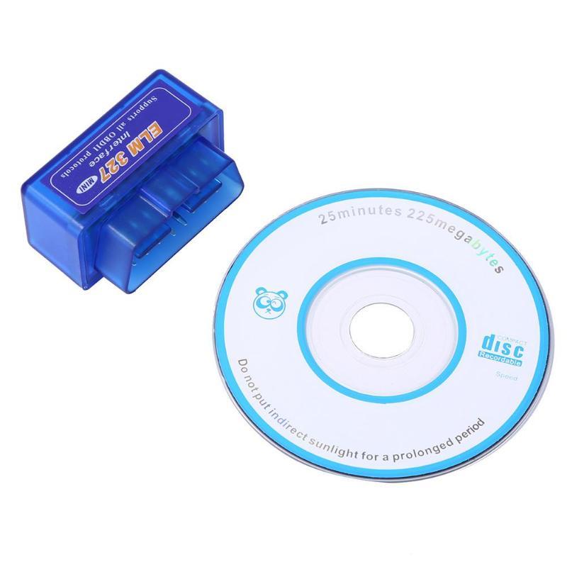 Mini Elm327 Bluetooth V2.1 Obdii Auto Diagnose Werkzeug Ulme 327 Obd2 Auto Fahrzeug Kabel Scanner Für Android Symbian Drehmoment/ Pc