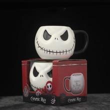 Mug Cartoon Coffee-Cup Skellington Skull Christmas-Jack Animation Halloween Nightmare
