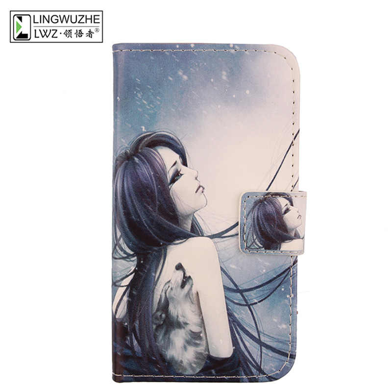 the best attitude 10dfb 44516 For Argos Alba Case 5.72 inch Luxury Leather Flip Wallet Cover Mobile Phone  Case For Argos Alba 5.72 inch Holster Coque