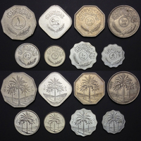 Y 3 Iraq Coins Set 8 PCS Coins UNC, Uncirculated, Old Edition Coins, For Collection, Gift, 100% Real Genuine Coins, Asian
