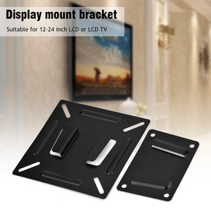 LCD LED Plasma Monitor TV Screen Wall Mini Stand Bracket Holder Premium Support 12 inch To 24 inch Flat TV Panel Accessories(China)