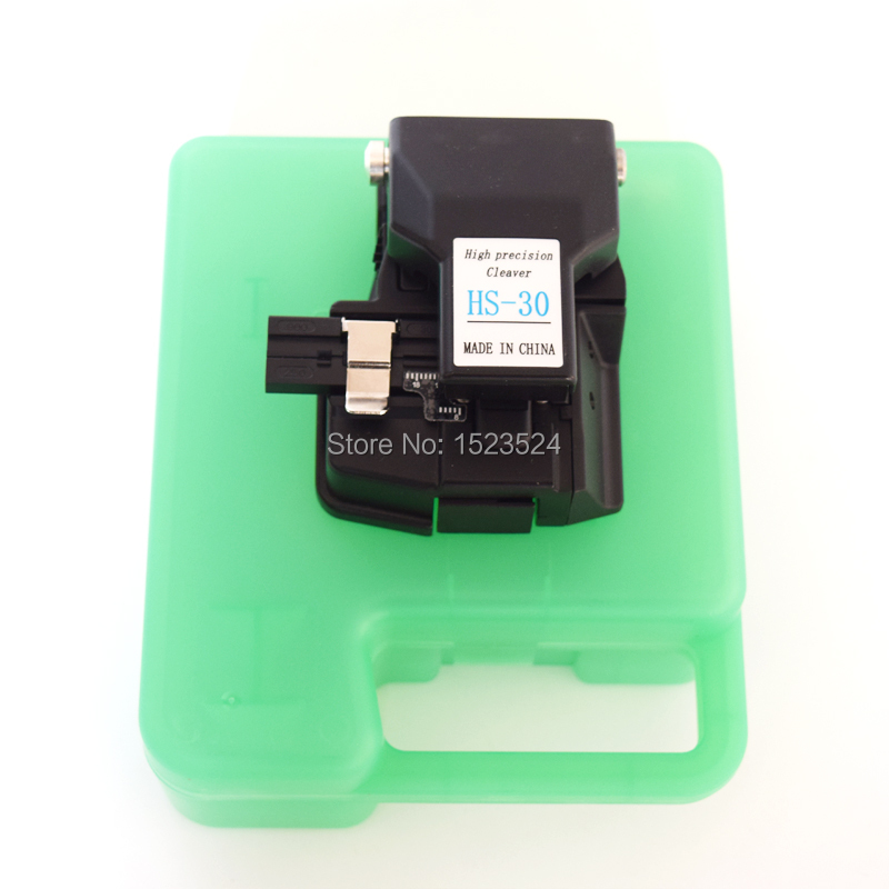Image 5 - Free Shipping High Precision HS 30 Chinese Optic Fiber Cleaver Fiber Optics Cutter Comparable Fiber Cleaver CT 30-in Fiber Optic Equipments from Cellphones & Telecommunications