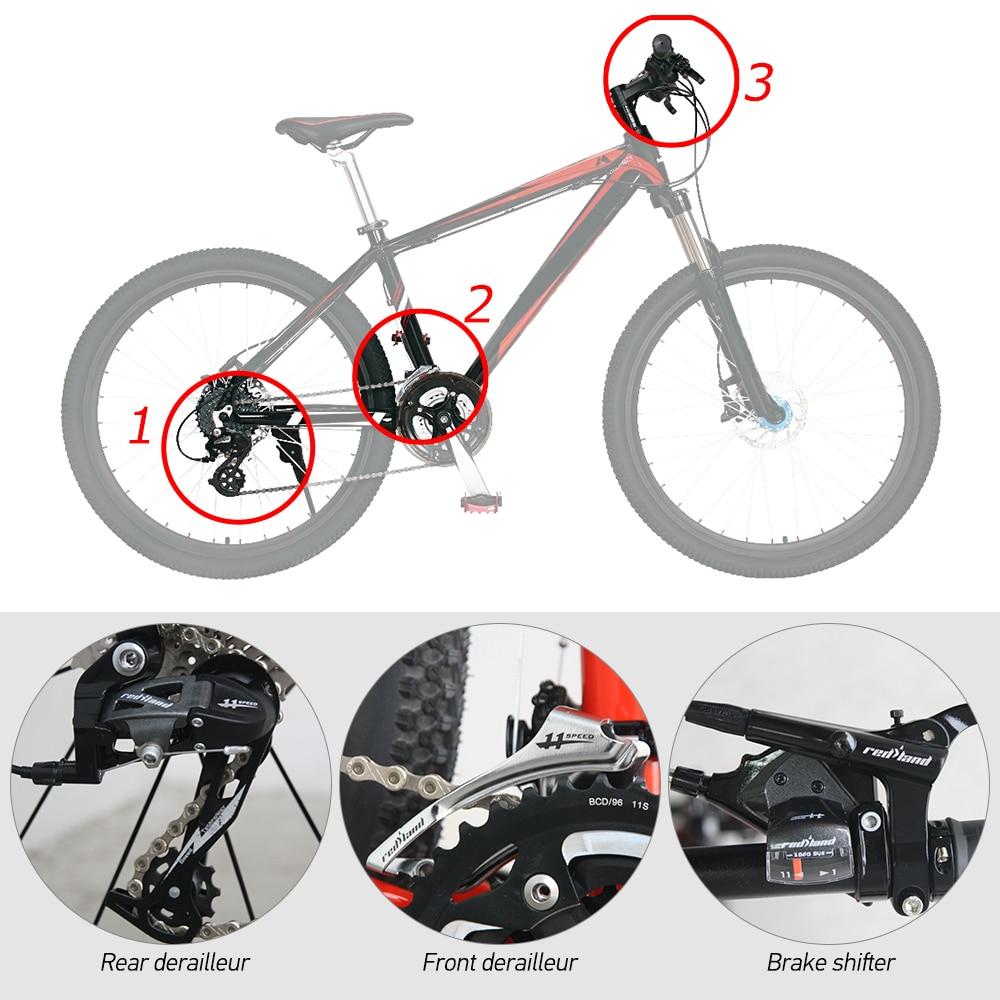 3e98e1f58ec Aluminum Alloy Bike Groupset Kit MTB Bike Front Rear Derailleur + Shifter  Bike Brake Lever 3X9S. US $23.92. SHIMANO 2300 2x8 Speed Road Bike 7 Kit  Bicycle ...