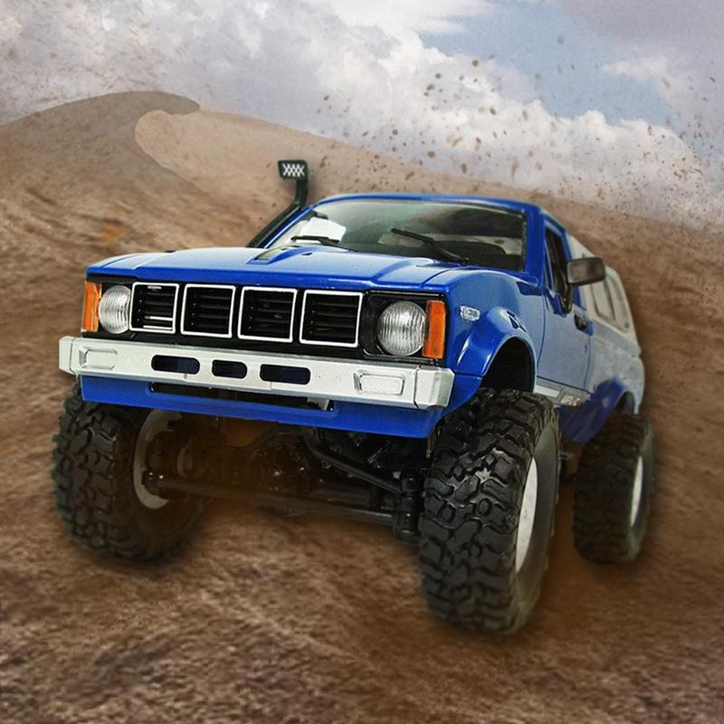 WPL C-24 1/16 Scale RC Car Rock Crawler 4WD Off-road Military Truck Best ToyWPL C-24 1/16 Scale RC Car Rock Crawler 4WD Off-road Military Truck Best Toy