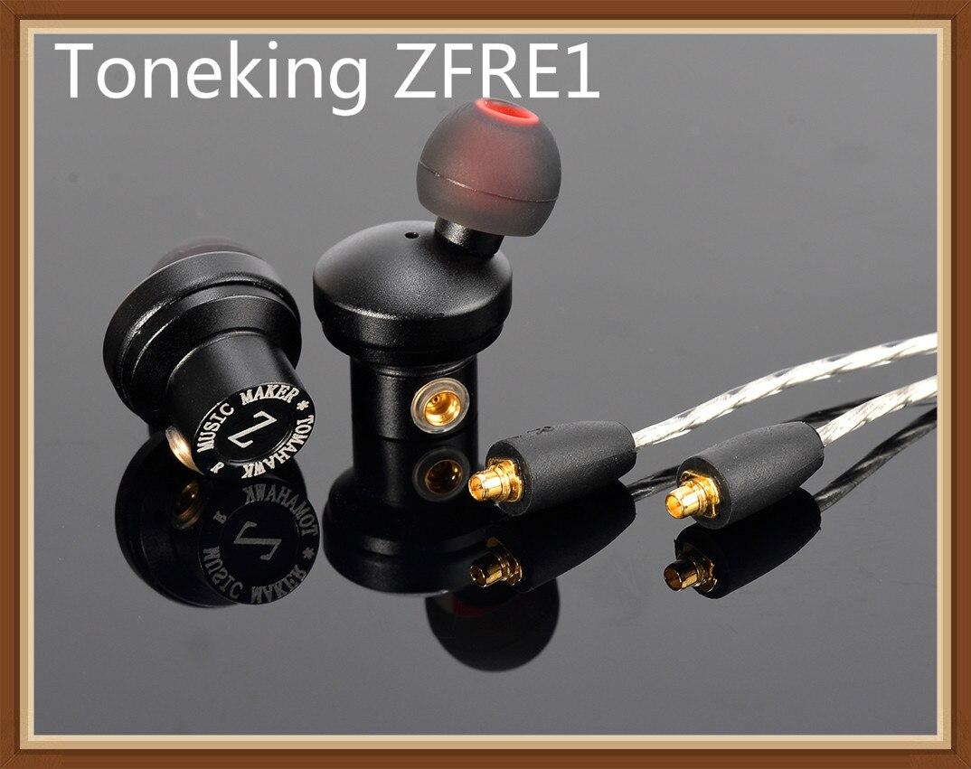 Musicmaker Toneking Tomahawk MrZ ZFRE1 Dynamic Driver High Fidelity IN EAR Metal HIFI Music Monitor Earphone
