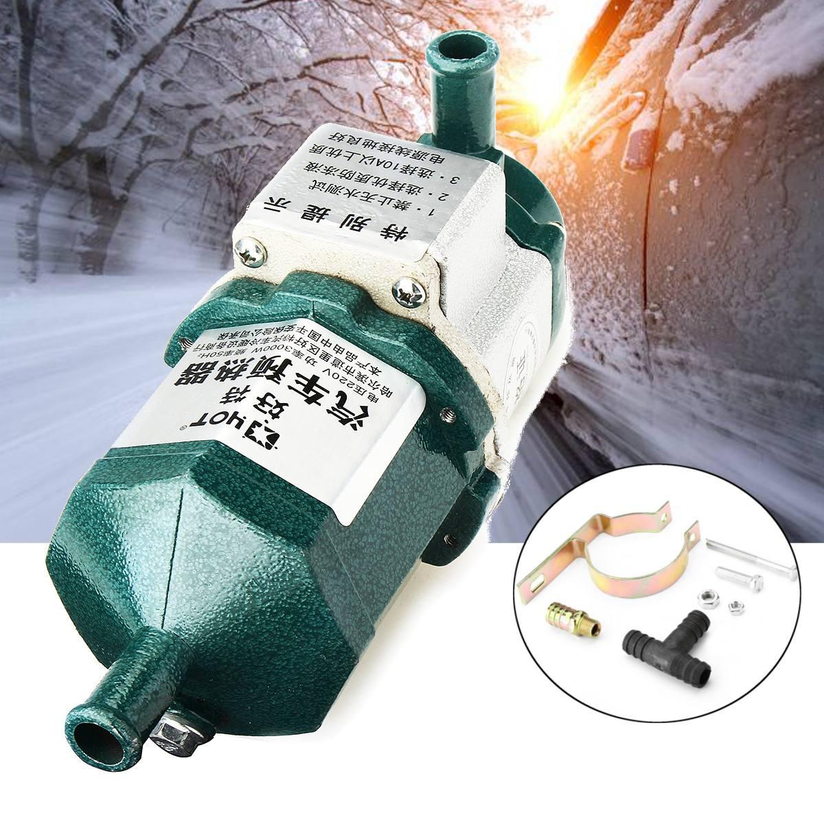 220 V 2000 W voiture moteur électrique démarrage chauffe-eau préchauffeur intelligent Air Parking moteur liquide préchauffeur voiture chauffage électrique