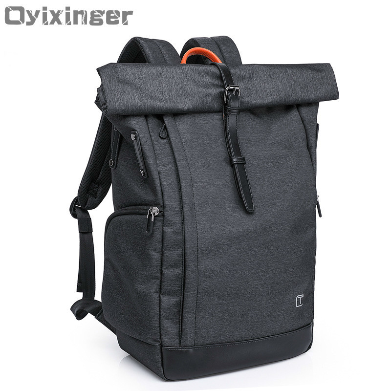 OYIXINGER Brand Unisex Men Business Backpack 15 Inch Laptop Boys School Backpack Casual Travel Women s