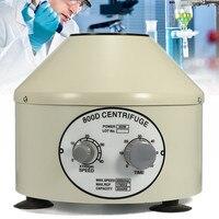 US/EU Plug 110V/220V Lower speed Desktop Laboratory Centrifugal Machine Electric Centrifuge 4000rpm 800D Timing Separation
