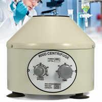 US/EU Plug 110V/220V Lower-speed Desktop Laboratory Centrifugal Machine Electric Centrifuge 4000rpm 800D Timing Separation