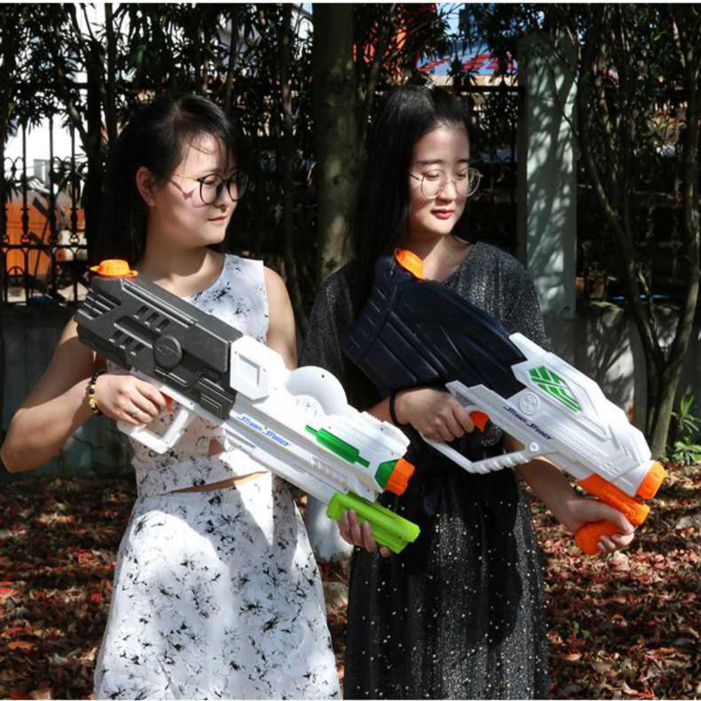 Big Water Gun Long Range Large Capacity High Pressure Water Gun Outdoor Games Toy Summer Pool Beach Toys For Kids