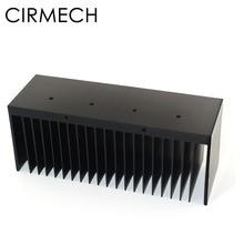 CIRMECH amplificateurs refroidisseur radiateur aluminium dissipateur de chaleur pour LM3886 puce électronique dissipateur de chaleur tampons de refroidissement 149.6*50*60mm