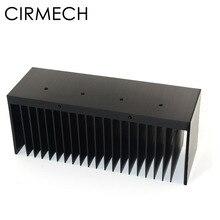 CIRMECH disipador de calor de aluminio, amplificador, ventilador de enfriamiento, para Chip electrónico LM3886, almohadillas de enfriamiento, 149,6x50x60mm