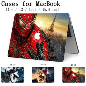 Image 1 - 2019 For Notebook MacBook Case For Laptop MacBook Sleeve Air Pro Retina 11 12 13.3 15.4 Inch With Screen Protector Keyboard Cove