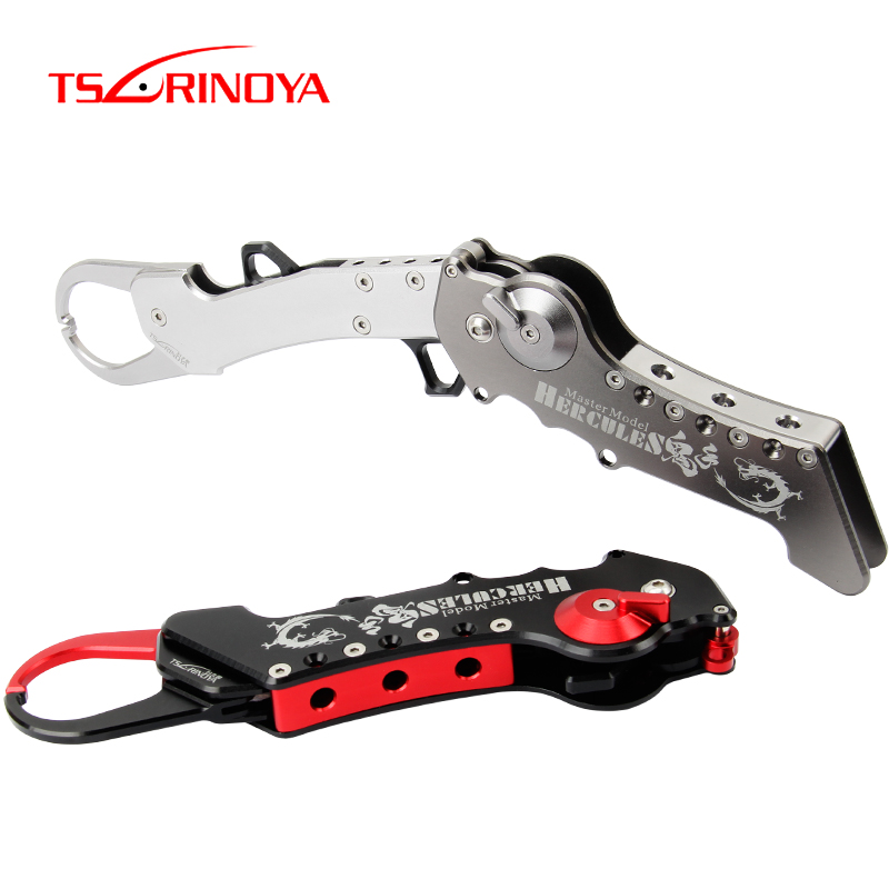 TSURINOYA Fishing Grip HERCULES 190g Aviation Aluminum Fishing Tackle Alloy Foldable Lip Grip Gripper Grabber