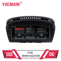 Android 7.1 car dvd player for BMW 5 series E60 E61 E62 E63 3 series E90 E91 CCC/CIC system autoradio gps navigation multimedia