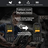 cell phone Intercom Mobile Phone Walkie Talkie Cell Phone For A17A16+ Land Rover Discovery3G Android 4.4 Software Zello Intercom Cell Phone (2)