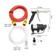 12 В Автомойка Стиральная машина Электрический насос мойка давления инструмент