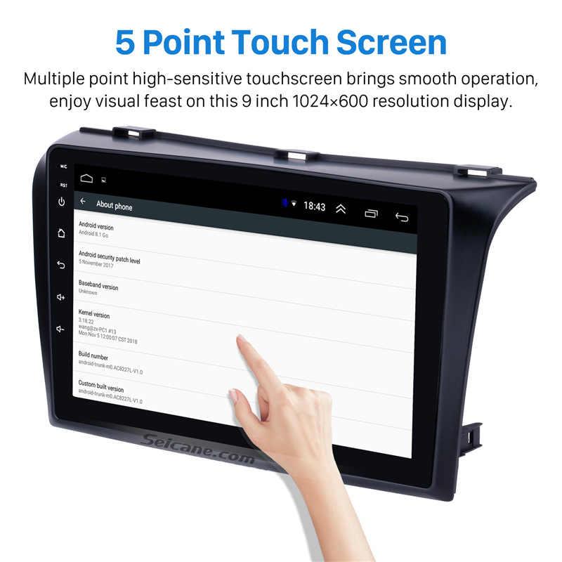 Seicane para 2004-2009 Mazda 3 Android 8,1 coche estéreo GPS reproductor de cabeza 2Din soporte GPS Wifi FM SWC cámara de visión trasera DVR OBDII