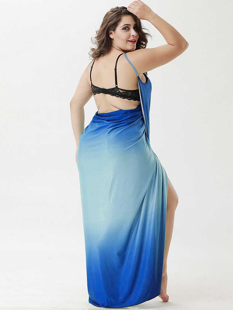 Wipalo для женщин; Большие размеры градиент с принтом пляжное платье с поясом на берегу моря для отпуска, в богемном стиле, летнее платье, Повседневное прикрытие Vestidos 5XL