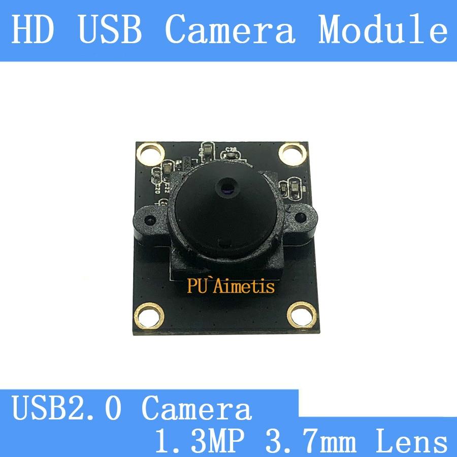 PU`Aimetis HD Mini Surveillance cameras MJPEG 30fps 720P HD 3.7mm Lens Linux UVC Webcam  USB2.0 CCTV camera module Surveillance Cameras     - title=