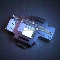 Isocket for iphone x pcb 메인 보드 홀더 iphonex 용 지그 테스트 픽스쳐 더블 데크 마더 보드 수리 도구 기능 테스터