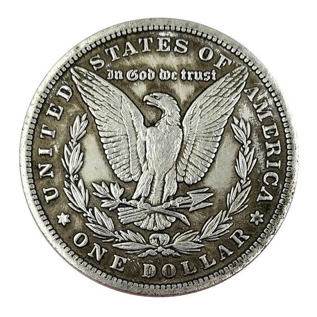 1884 Phụ Nữ của đầu Kỷ Niệm Đồng Xu Cổ May Mắn Có Nhu Cầu Đồng Xu Món Quà May Mắn Kim Loại Huy Hiệu Lưu Niệm Huy Chương Bộ Sưu Tập Tiền Tệ Thủ Công