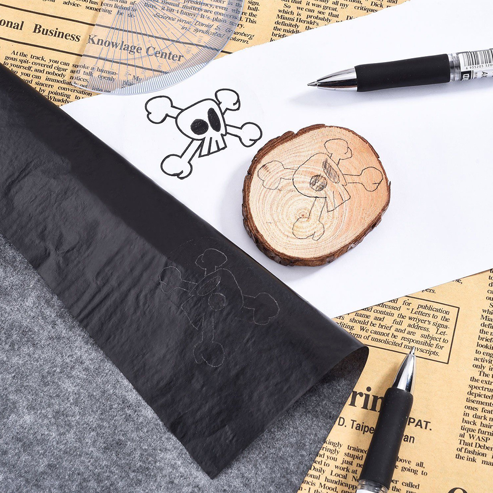 New High Quality 100Pcs Reusable Tracing A4 Graphite Painting Accessories Carbon Paper Copy Legible