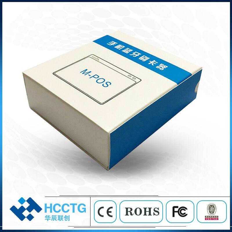 Lecteur de carte à puce Android lecteur de carte à puce Emv/écrivain lecteur de carte magnétique Bluetooth 5 pièces MPR100