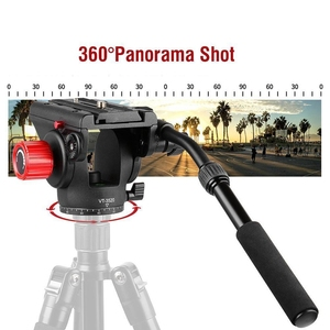 Image 4 - KINGJOY Vt 3520 360 degree Panoramic Tripod Fluid Drag Pan Head W/ Quick Release Plate