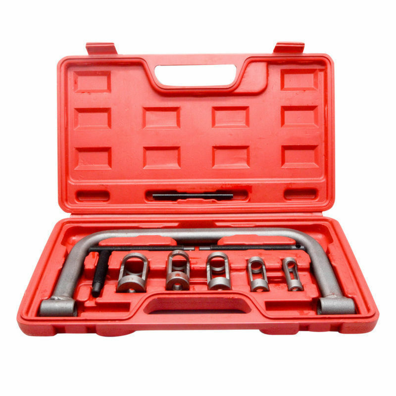 New A Set Valve Spring Compressor Tool Kit For Car Motorcycle Petrol Engines AU