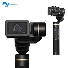 Feiyu Tech G6 360 Degree Action Cam FPV Smart Phone 3-Axis WiFi bluetooth Camera Gimbal For GoPro Hero 6/5/4 RX0 Sports Cam(China)