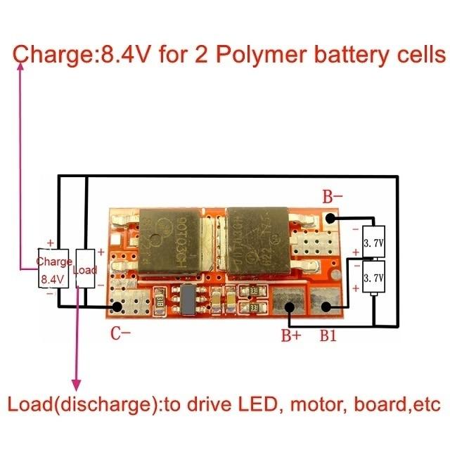BMS 1 S 2 S 10A 3 S 4 S 5 S 25A BMS 18650 Li-Ion Lipo Lithium-Batterie Schutz circuit Board Modul PCB PCM 18650 Lipo BMS Ladegerät