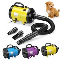 2800W Dog Grooming Dryer Pet Dog Cat Hair Dryer 220V~240V Pet Fur Dryer Blower Heater Low Noise for Cats Dogs