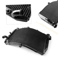 Motorcycle Aluminum Water Cooler Radiator For Honda CBR600F4i CBR 600 F4i 2001 2002 2003 2004 2005 2006 Black