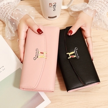 Wallet Female Long Cute Minimalist Small Fresh Student Large Capacity Personality