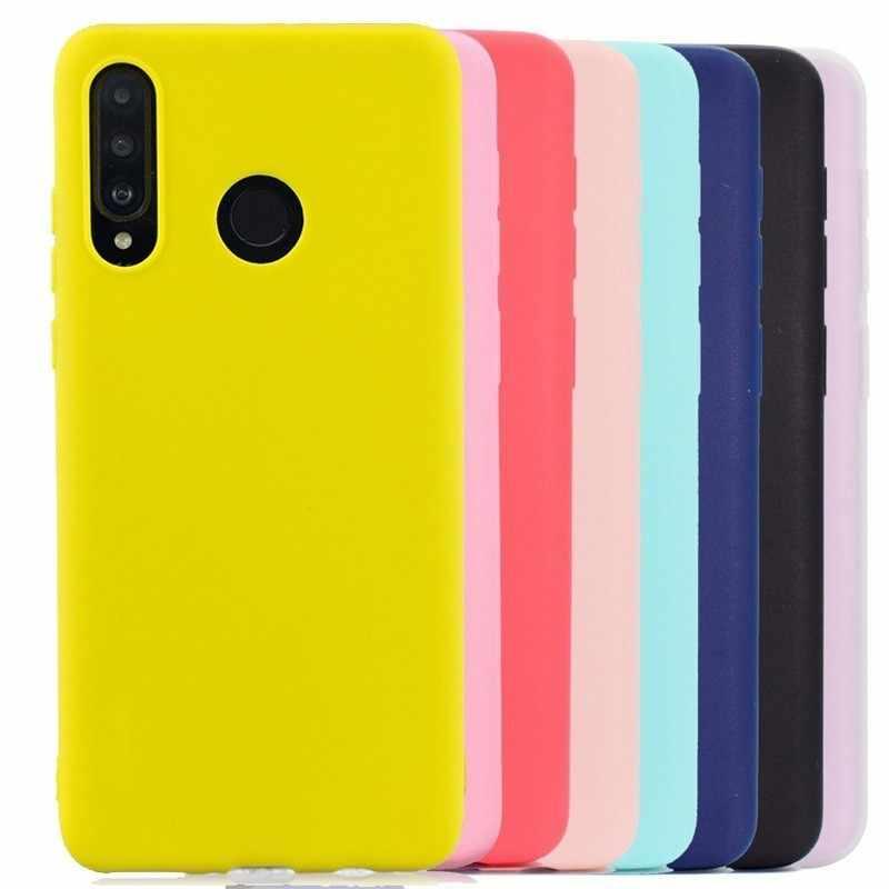 متعدد الألوان سيليكون غطاء إطار هاتف محمول لهواوي زميله 20 P30 لايت برو Y6 Y7 Y9 2019 الشرف 8A 8X 8C 7C P20 10 P الذكية 2019 حالات