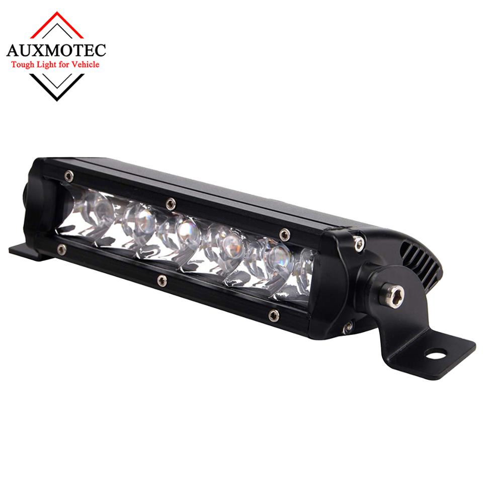 7 Inch 30W Led Light Bar Led Work Light 12V Offroad Driving Lamp Spotlight Spot For 4X4 Fog 4WD Headlight Car Auto Motorcycle