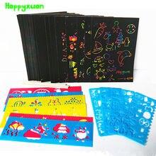 Happyxuan 50 листов magic Цвет Радуга бумага для заметок набор