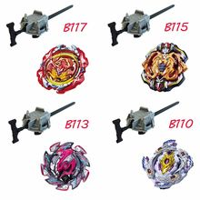 New Beyblade Burst Starter Bey Blade Blades Metal Fusion Bayblade Burst With Launcher Stater Set Spinning Top Toys For Children(China)