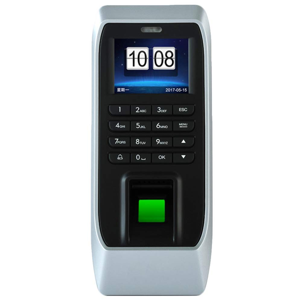 MOOL Biometric Fingerprint Time Attendance Clock Recorder Employee HD Screen Fingerprint Access Control System Attendance Mach linux system webserver color screen u260 biometric fingerprint time clock time attendance terminal employee recording attendance