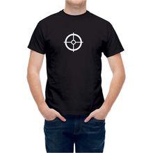 9aeb3247f8 T Shirt Archery Shooting Aim Target Bullseye Mens Tops Cool O Neck T-Shirt  Top