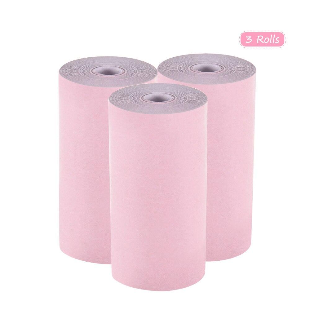 Цветная термобумага рулон 57*30 мм(2,17*1,18 дюйма) для чеков фотобумага прозрачная печать для PeriPage A6 для бумаги ANG P1/P2
