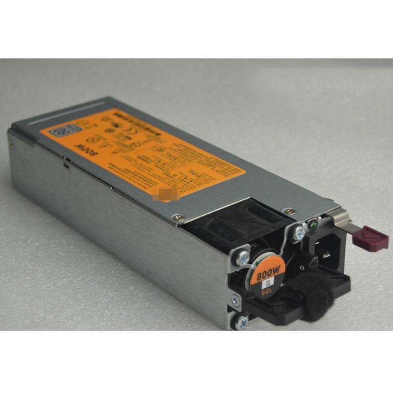 Блок питания для сервера HP Gen9 G9 800 Вт 720479-B21 723599-001 754381-001