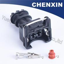 Chenxin 10psc 2 pin efi серии(3,5) Женский автомобильного автоматический проводной соединитель EV1 282762-1 Водонепроницаемый провод разъем авто разъем