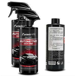 Image 4 - Revêtement en céramique, liquide de polissage de voiture, Spray couche de finition, revêtement rapide à Nano, cire en Spray pour nettoyage de voiture, 500ML